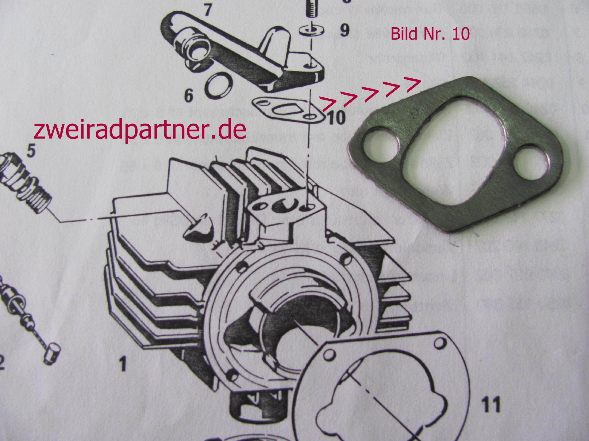 Kupplungsdeckeldichtung Hercules R50S MP 2 3 4 Lastboy HR1 MF3 Prima G3 Sachs 50//2 50//3 50//4 Motor Kupplung Dichtung