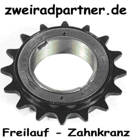 Freilauf Zahnkranz 16 Zähne E-Bike verstärkt 1//2x1//8 sprocket